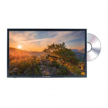 """Caratec Vision CAV220P-D.2 55cm (22"""") Weitwinkel TV mit DVB-T2 HD, DVB-S2 und DVD-Player"""