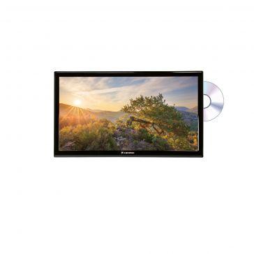 """Caratec Vision CAV220P-D 55cm (22"""") Weitwinkel TV mit DVB-T2 HD, DVB-S2 und DVD-Player"""