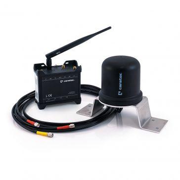 Caratec Electronics CET300R Caravaning-Routerset - Router und Antenne für Wohnmobil und Caravan, mit schwarzer Antenne