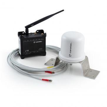 Caratec Electronics CET300R Caravaning-Routerset - Router und Antenne für Wohnmobil und Caravan, mit weißer Antenne