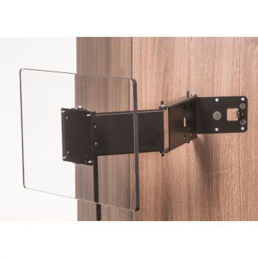 Caratec Flex CFW305S TV-Wandhalter mit 3 Drehpunkten, schwarz