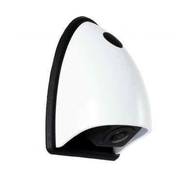 Caratec Safety CS102LA.03 Miniaturkamera mit 15 m Anschlussleitung, weiß