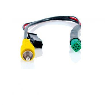 Caratec Safety CSZ103M Monitor-Adapter grün, 7-poliger Stecker auf Cinch