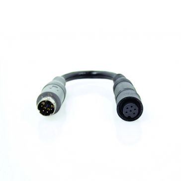 Caratec Safety CSZ107K Kamera-Adapter 6-poliger Mini-Schraubkupplung