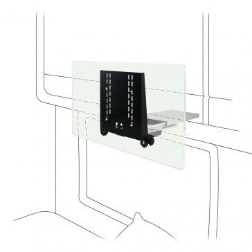 Caratec Flex CFA103H TV-Auszug für Oberschrank, mit Pushlock Verriegelung