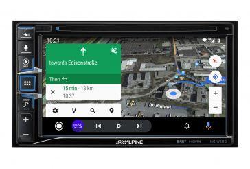 """Alpine INE-W611DC 2-DIN Navigation mit DVD-Spieler; 6,5 """" (16,5 cm)"""