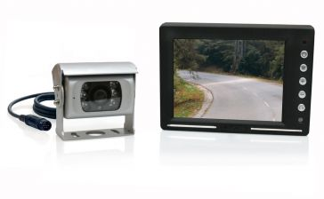 "Caratec Safety CRV5605 Rückfahrvideo-Set mit 5,6"" Monitor (14,2 cm)"