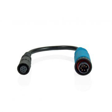 Caratec Safety Kamera-Adapter 6-polige Mini-Schraubkupplung auf 6-poligen Schraubstecker