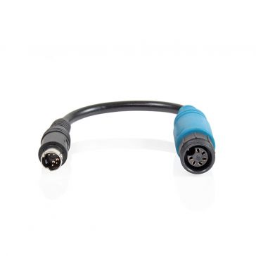 Caratec Safety Monitor-Adapter 6-polige Schraubkupplung auf 4-poligen Stecker