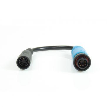 Caratec Safety Kamera-Adapter 4-polige Kupplung auf 6-poligen Schraubstecker