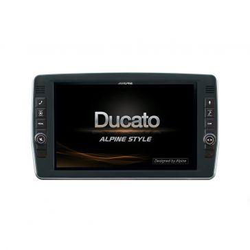 """Alpine X903D-DU2 Navigation für Fiat Ducato schwenkbar; mit 9"""" (23 cm) Touchscreen"""