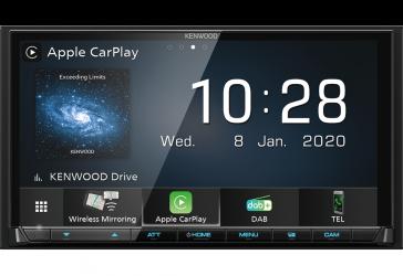 "Kenwood DMX8020DABS 2-DIN Moniceiver 7"" (17,7 cm) mit DAB+, Android Auto und Apple CarPlay"