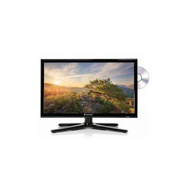 """Caratec Vision CAV196DSW 47cm (19"""") Weitwinkel TV mit DVB-T2 HD, DVB-S2 und DVD-Player"""