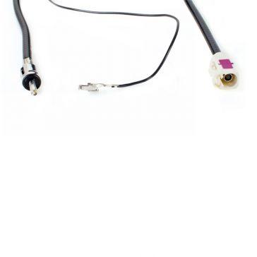 Caratec Connect CCL005 Antennenleitung für FM, für Filmantenne CC008DAB, 12m