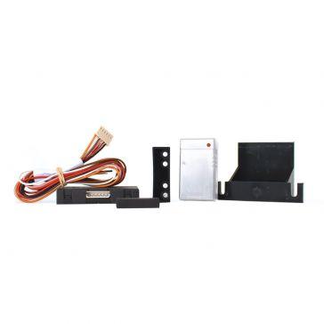Funksensor-Starterset mit weißen Sensoren zur einfachen Absicherung von Türen, Klappen und Fenstern
