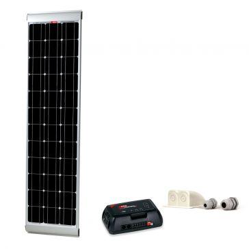 NDS KP100S-320 Solarpanel-Set, schlanke Bauform, mit integrierten Haltern