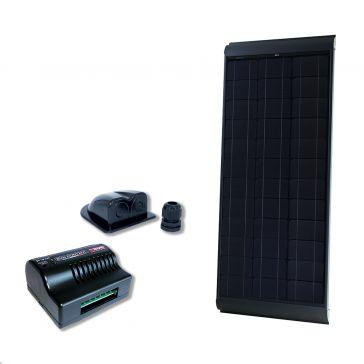 NDS BS115WP Solarpanel-Set schwarz