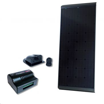 NDS KPB180WP Solarpanel-Set schwarz