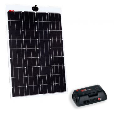 NDS KPL105-320 Solarpanel-Set, 105 Wp, mit semiflexiblem Panel