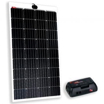 NDS KPL145-320 Solarpanel-Set, 145Wp, mit semilfexiblem Panel