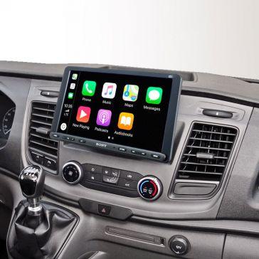"""Sony XAV-AX8050D 1-DIN Moniceiver 9"""" (22,8 cm) DAB für Ford Transit ab 2020"""